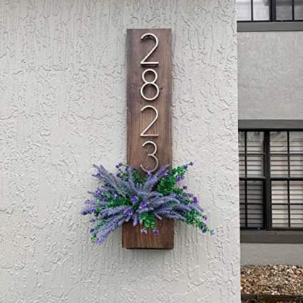 Address Planter Plaque