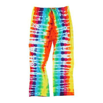 adult tie-dye lounge pants