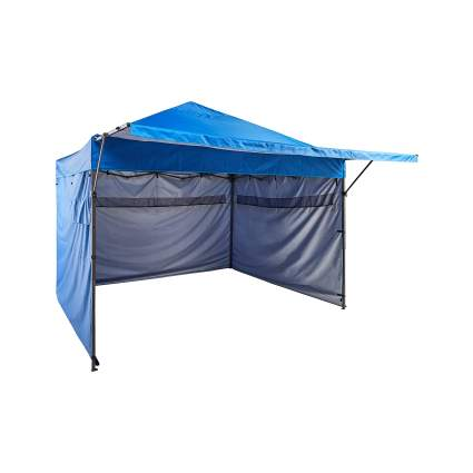 AmazonBasics 10 by 10 Foot Pop-Up Canopy With Sidewalls