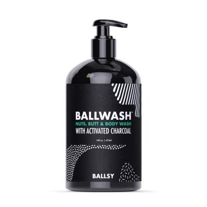 Ballsy Men's Activated Charcoal Ball and Body Wash