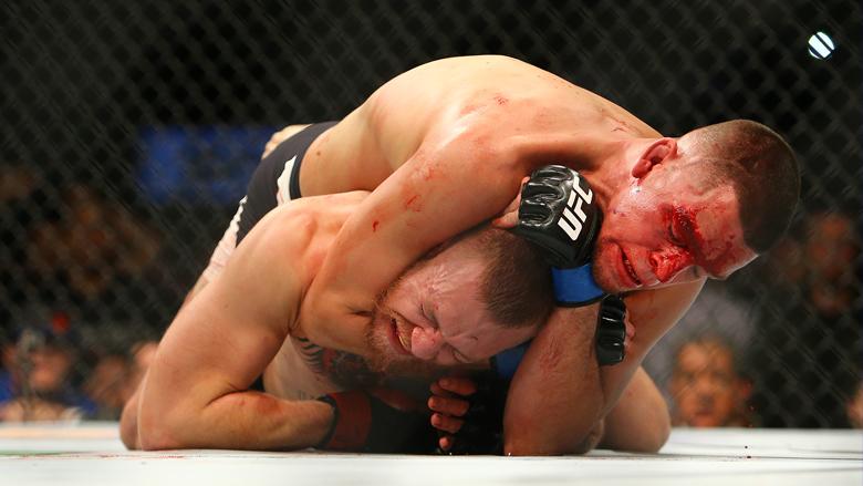 UFC Stars Conor McGregor and Nate Diaz