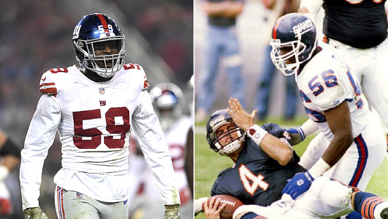 Giants LB Lorenzo Carter's 4 sack scrimmage performance draws Lawrence Taylor comparisons