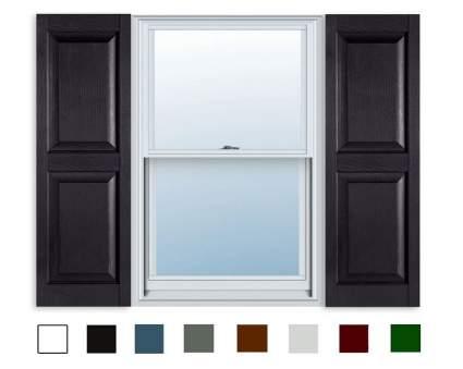 ExteriorSolutions Standard Raised Panel Exterior Shutters