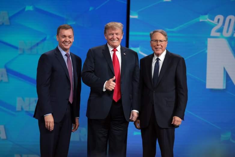 Trump, Cox, LaPierre