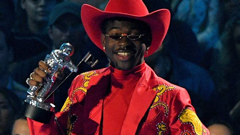Lil Nas X speaks onstage during the 2019 MTV Video Music Awards at Prudential Center on August 26, 2019 in Newark, New Jersey.