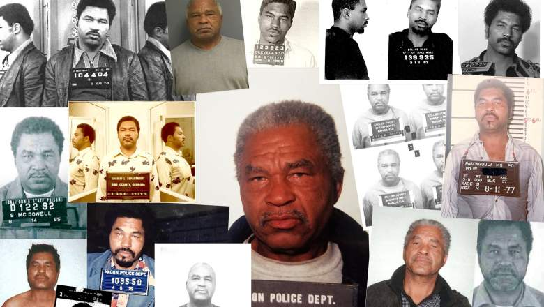 In this handout photo provided by the Federal Bureau of Investigation, serial killer Samuel Little is seen in a composite image depicting multiple mug shots/booking photos from 1966-1995. Little, who is currently serving a life sentence, has confessed to 93 murders in 19 states over 35 years. The FBI has verified 50 of these cases so far, making Little the most prolific serial killer in U.S. history.