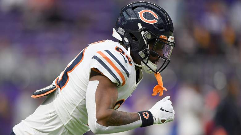 Chicago Bears WR Javon Wims fight