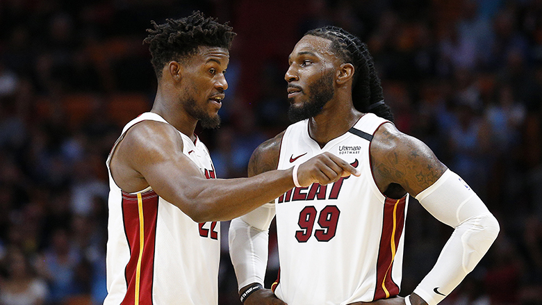 Heat Champ Makes Bold Nba Finals Prediction Addresses Jimmy Butler Error Heavy Com
