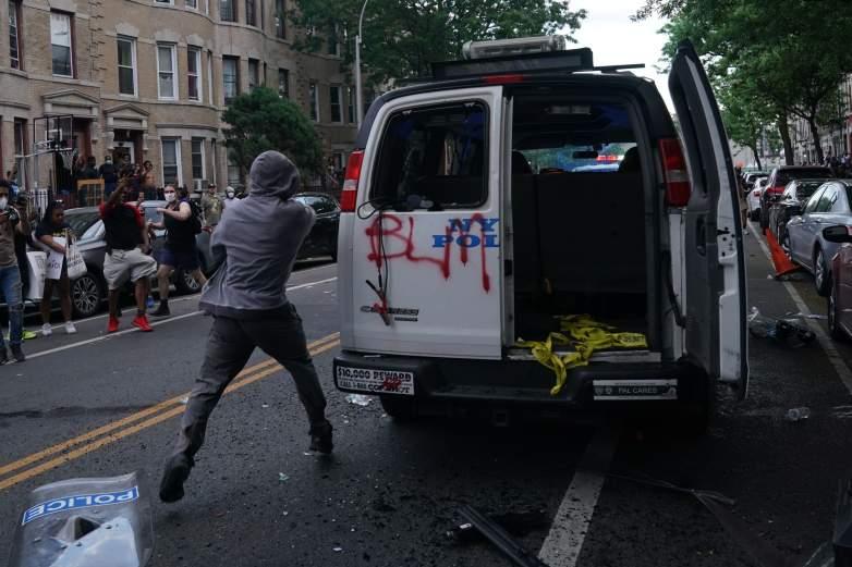 NYPD van
