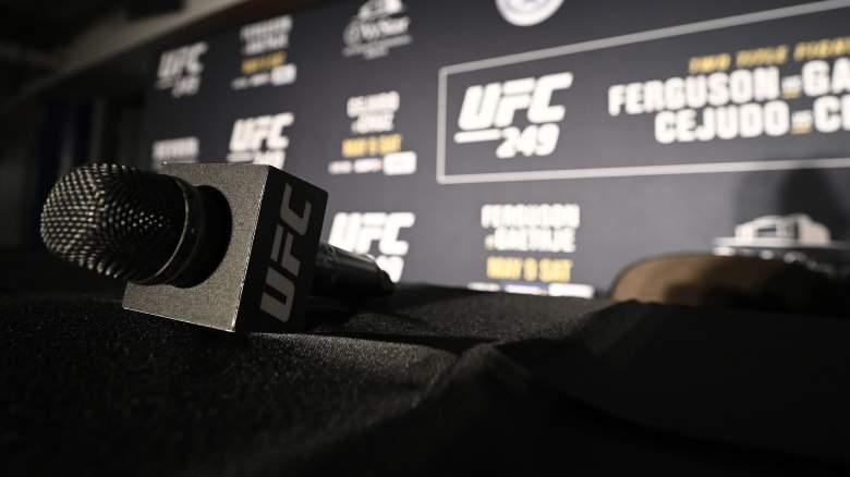 UFC Microphone