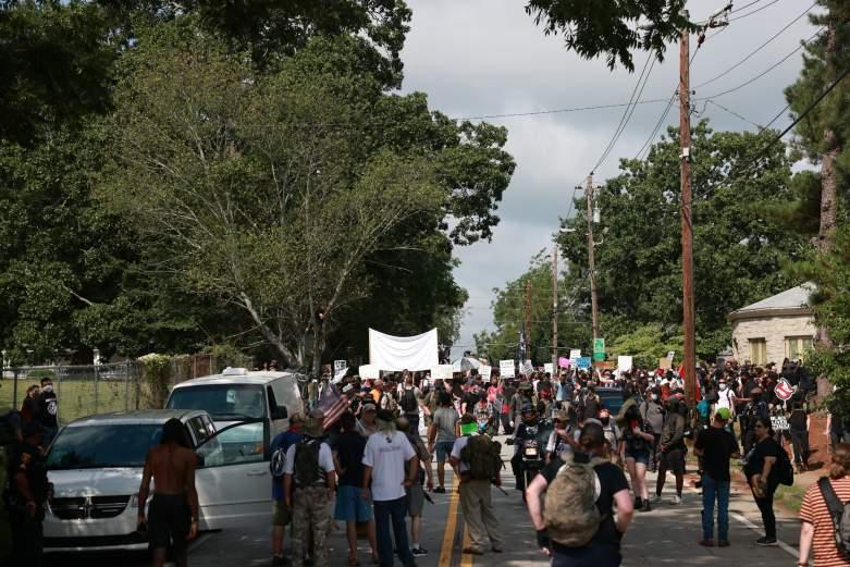 Stone Mountain Georgia Protests Photos Videos