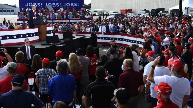 Trump Oshkosh Rally Crowd Size
