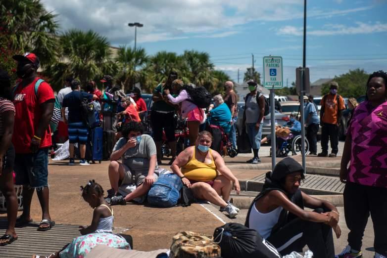 Hurricane Laura Evacuees