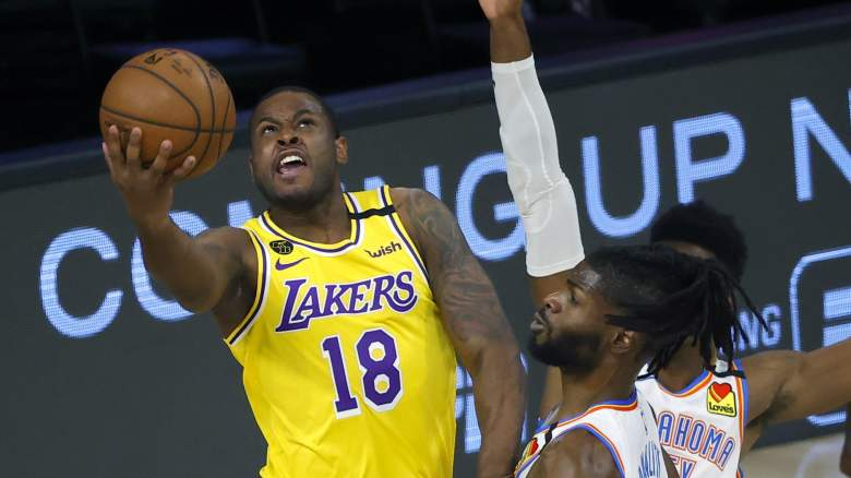 Lakers guard Dion Waiters