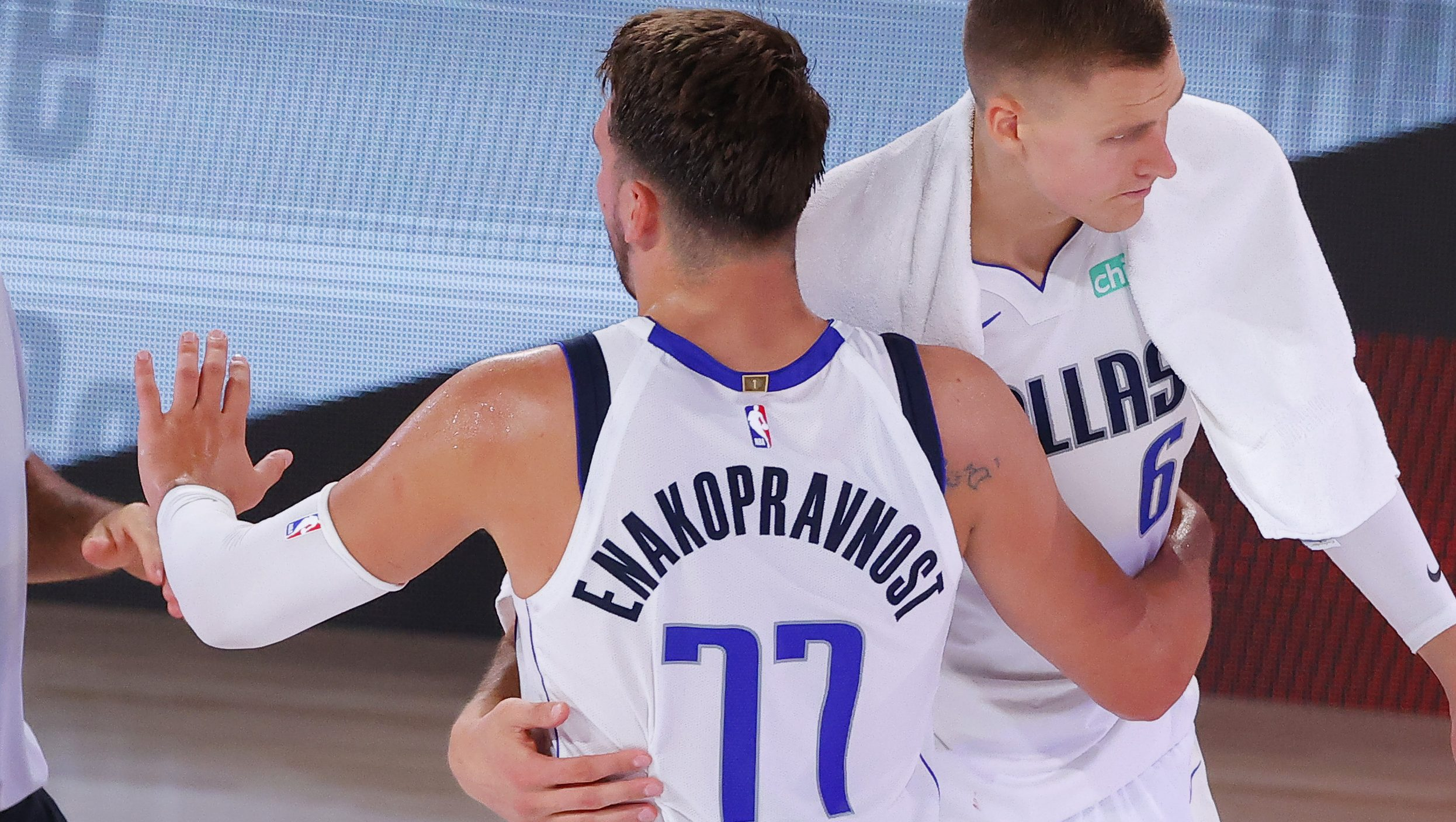 Luka Doncic S Jersey What Does Enakopravnost Mean Heavy Com
