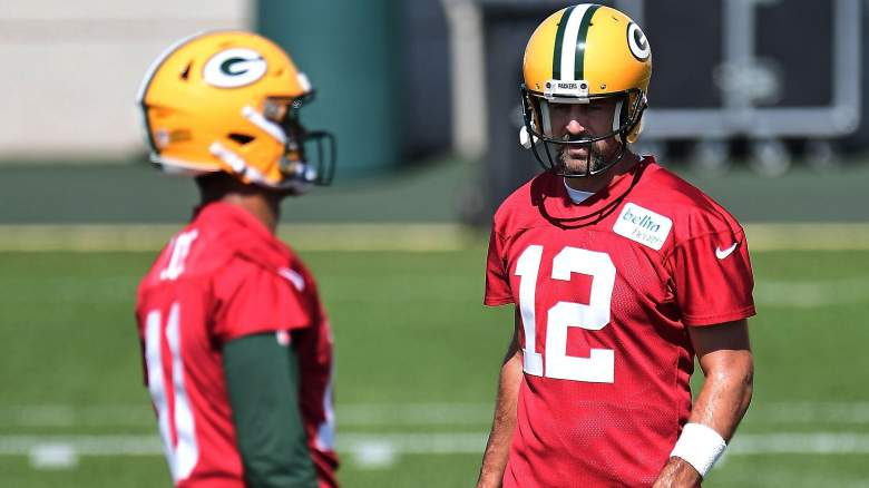 Rodgers Love Viral Practice