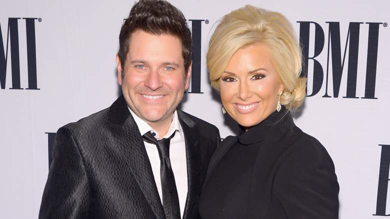 Jay DeMarcus (L) and Allison DeMarcus attend the 61st annual BMI Country awards on November 5, 2013 in Nashville, Tennessee.