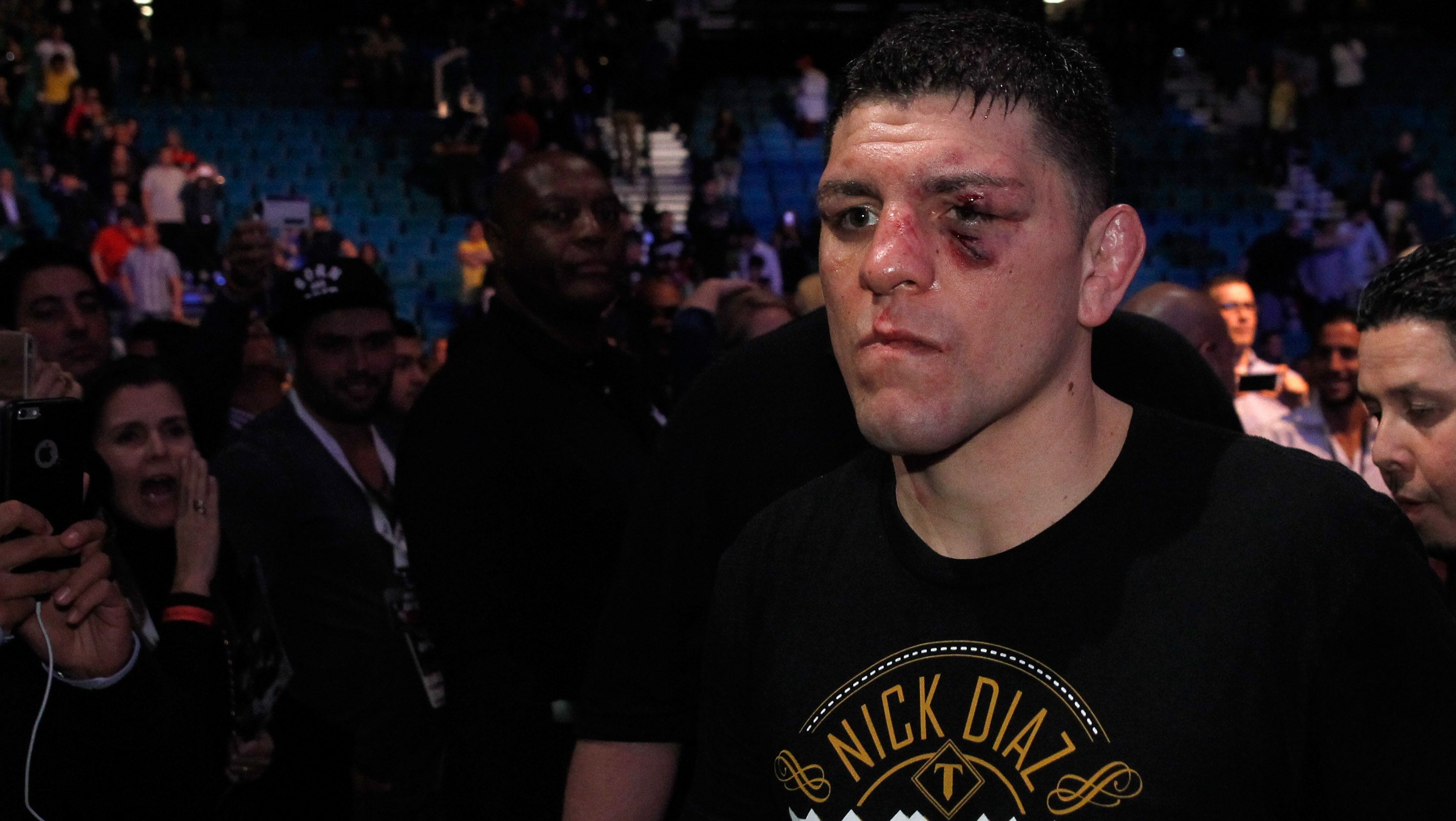 Nick Diaz Sparks Comeback Speculation With Recent Post [LOOK]