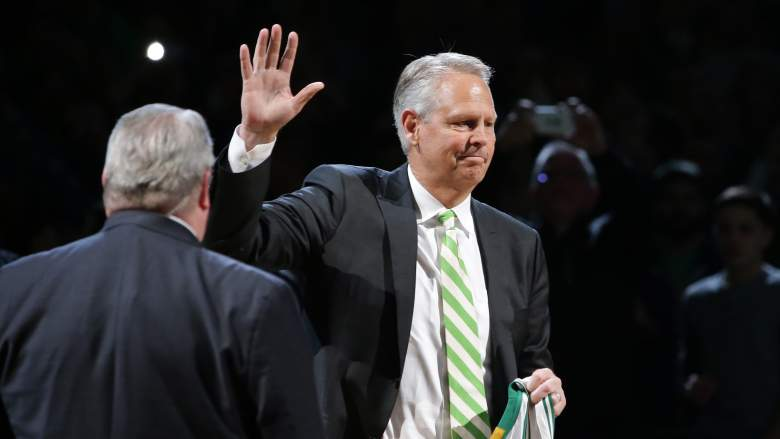 Celtics President Danny Ainge has difficult decisions ahead in the NBA Draft.