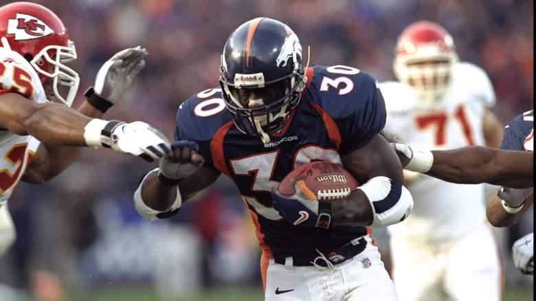 Terrell Davis Broncos