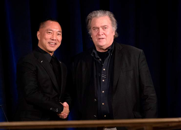 Wengui and Bannon