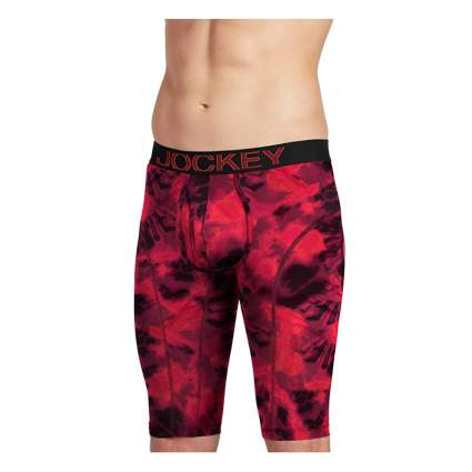 Jockey tie-dye quad shorts