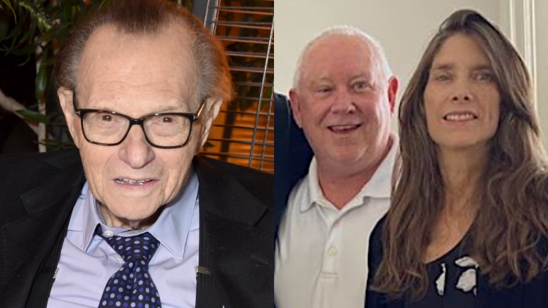 Larry King, Andy King and Chaia King