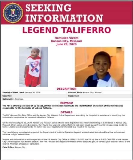 LeGend Taliferro FBI