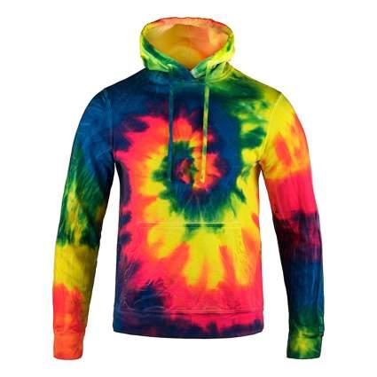 neoon tie-dye hoodie