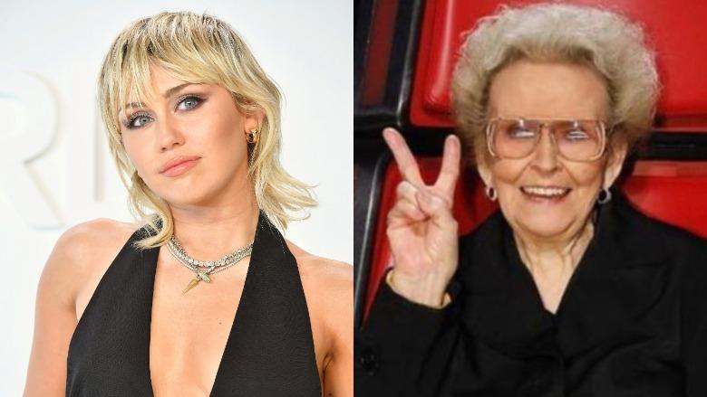 Miley Cyrus's grandmother death