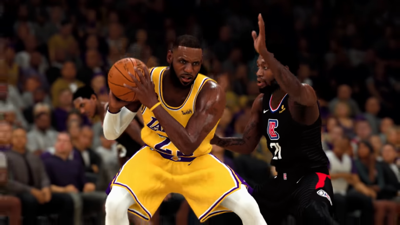 NBA 2K21 Lebron James