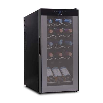 15 bottle wine cooler