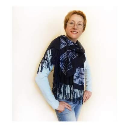 handmade tie dye shawl