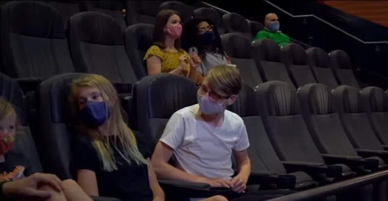 Regal Cinemas auditorium
