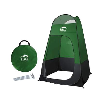 Ridge Outdoor Gear 6.5 Foot Pop Up Privacy Tent