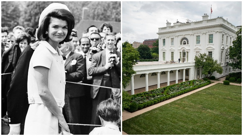 Rose Garden History Jackie Kennedy