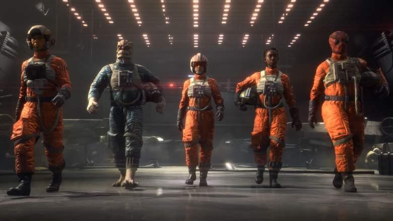Star Wars Squadrons Pilots