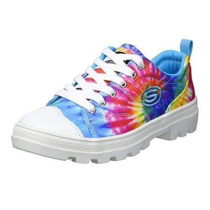 tie dye sneakers