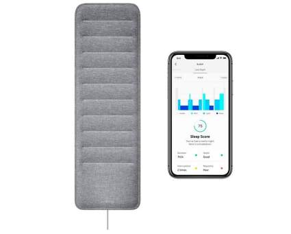 Sleep tracking pad