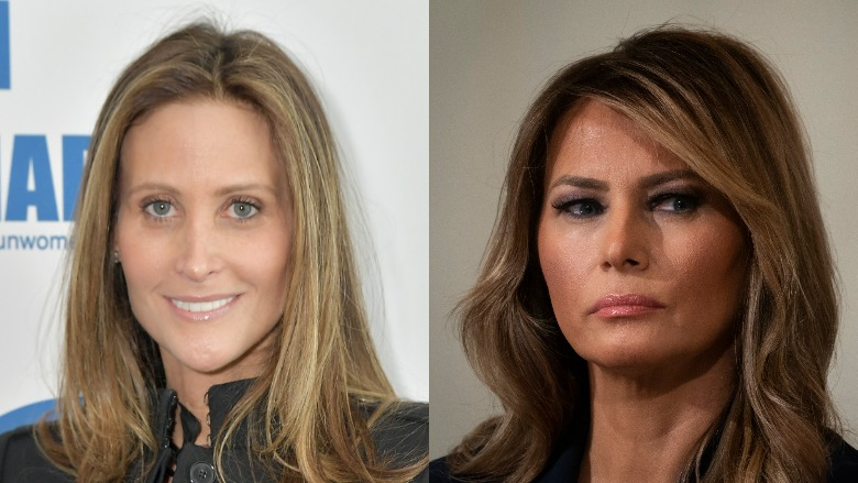 Stephanie Wolkoff and Melania Trump