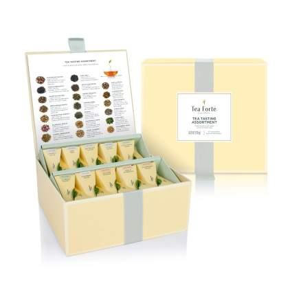 Tea Forte Organic Assorted Variety Tea Sampler