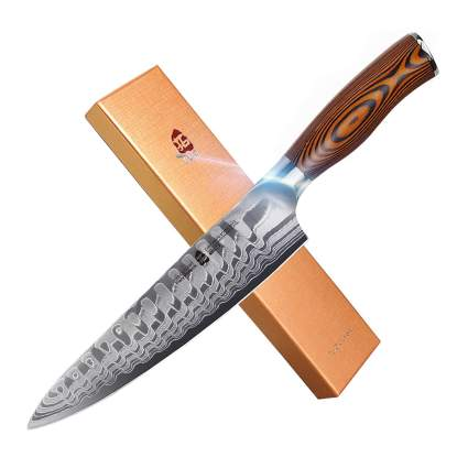 8 inch damascus steel chef knife