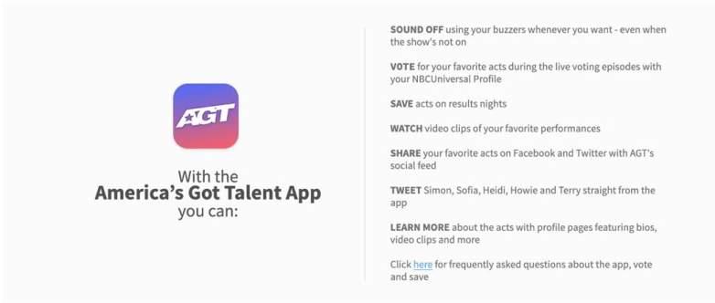 AGT Voting App