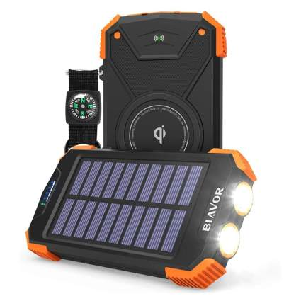 Blavor Portable Charger and Solar Power Bank