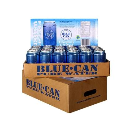Blue Can 50-Year Shelf Life Pure Water