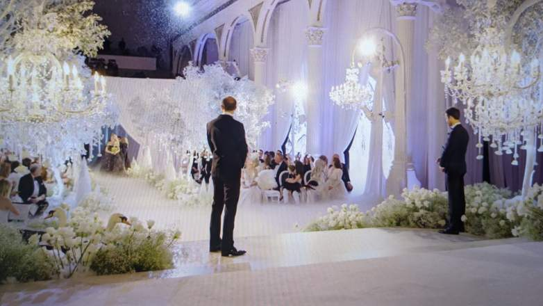 Christine Quinn and Christian Richard were married in December 2019 in a Gothic winter wonderland ceremony in Los Angeles.