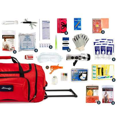 Redfora Complete Emergency Kit for Four People