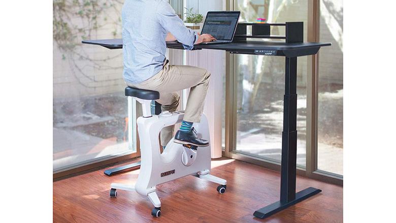 Under Desk Bikes For Staying Active, Stationary Desk Bike