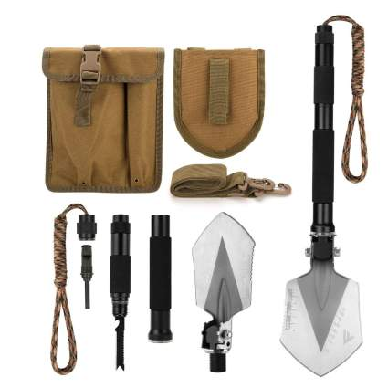FiveJoy Military Folding Shovel Multitool