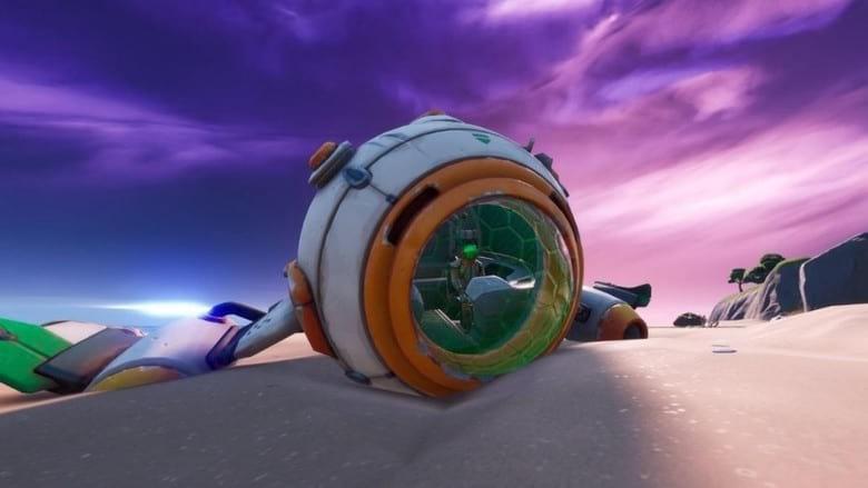 fortnite spaceship parts challenge